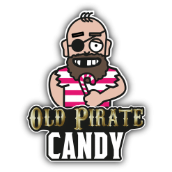 Old Pirate Candy 100ml Shortfill