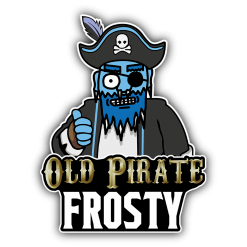Old Pirate Frosty 100ml Shortfill