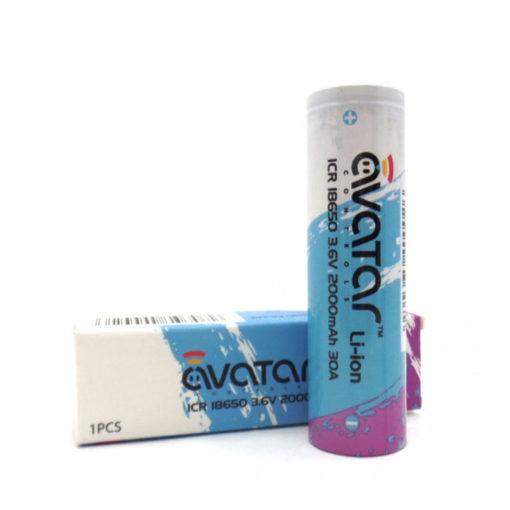 Avatar 18650 battery