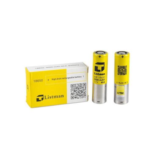 Listman 18650 Battery